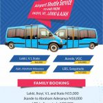The Transporter Provides AIRPORT Shuttle Services To Murtala Muhammed Airport