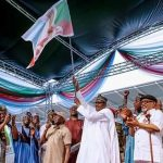 Buhari Holds A Re-Election Campaign Rally In Uyo