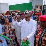 Buhari Commissions Ariara Market IPP, Says Electricity Has No Political Colour