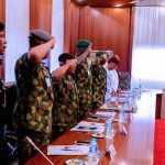 Buhari Meets Service Chiefs, IGP and 3 Governors
