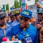 PDP Leaders Hold Protest March In Abuja Over 2019 Polls
