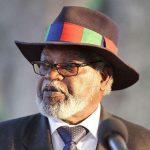 Buhari Greets Former President of Namibia, at 90