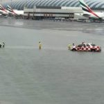 Dubai Airport Flooding and Flights Delayed