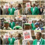 Pastor E. A. Adeboye Leads a Protest in Lagos