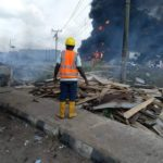 Lagos Explosion: 15 Confirmed Dead, More Than 50 Houses Burnt