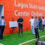 Lagos State takes delivery of 110-bed COVID-19 isolation facility