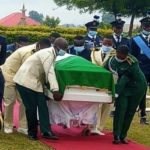 Tears as Nigeria's First Female Helicopter Combat Pilot Laid to Rest