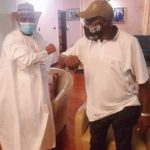 Tambuwal Visits Obasanjo in to 'Consult' Ahead of 2023 Elections