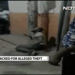 Nigerian Man Tied To Post And Beaten By Delhi Mob