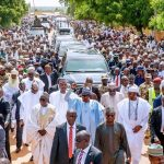 If He Is Not Lifeless, 800 Meters Walk Na Wetin Presidency Suppose Celebrate And Announce Like Big Deal?