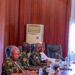 Buhari, Service Chiefs Meet Again Without Osibanjo