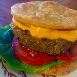 Walnut/Mushroom Mock Cheese Burgers