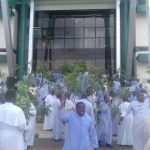 Protest from Catholic Priests Over Killing of One of Their Own by Fulani Herdsmen