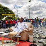 Buhari and the covik one nine virust