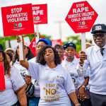 Walk against Domestic Violence in Lagos