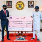 Lagos Receives N1bn Cheque from UBA