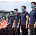 Coronavirus: 15-man Chinese Medical Team Arrives Nigeria