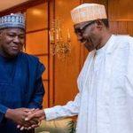Dogara Returns to APC, Meets Buhari in Abuja